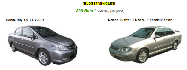 budget car rentals